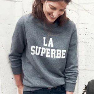 Sezane x Madewell Sweater La Superbe Large